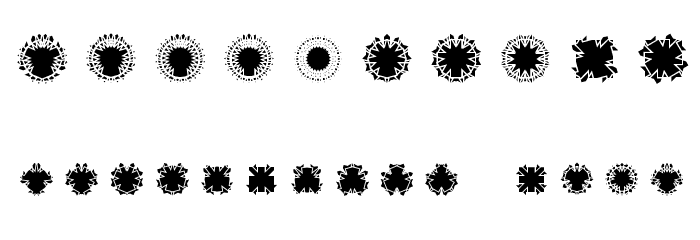 Ovulution I Nucleus Font OTHER CHARS