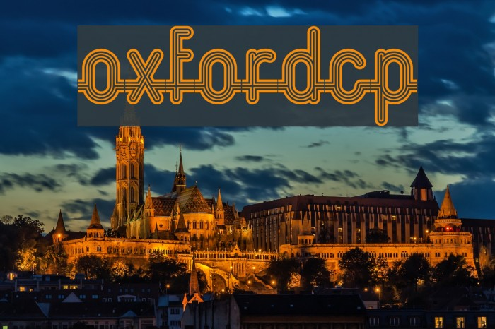 OxfordCP Font examples