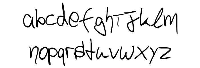 p4r4d0x_h4ndwr1tt3n Schriftart Kleinbuchstaben