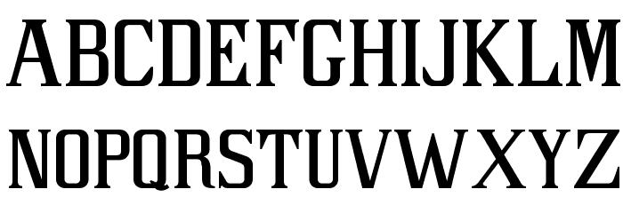 PAC LIBERTAS フォント 小文字