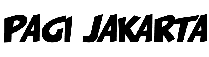 PAGI JAKARTA  免费字体下载