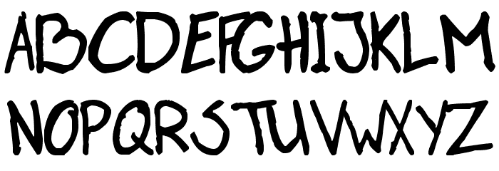 Paasse Handwriting Schriftart Groß
