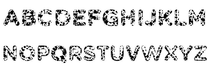 Pabellona [A] S�mplex Font UPPERCASE