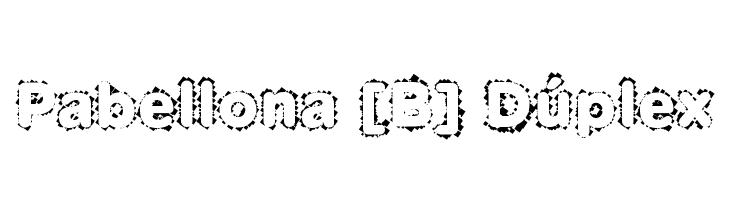 Pabellona [B] D�plex  Скачать бесплатные шрифты
