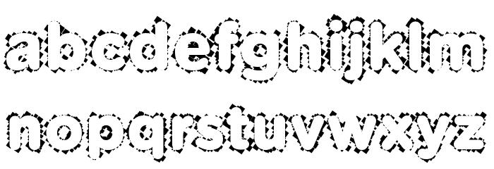 Pabellona [B] D�plex Font LOWERCASE