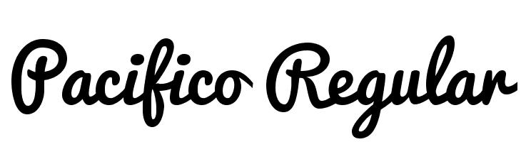 Pacifico Regular  Frei Schriftart Herunterladen