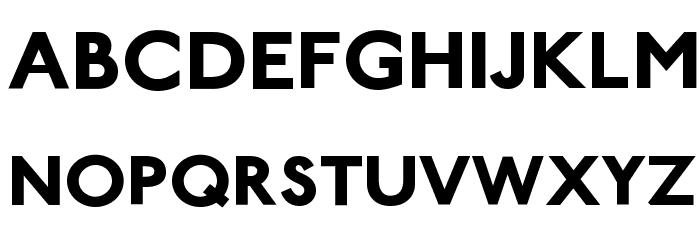 PaddingtonSC Bold Font LOWERCASE