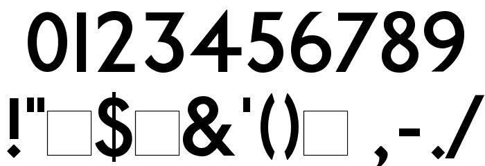 PaddingtonSC Font OTHER CHARS