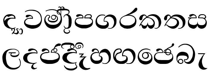 Padma Font LOWERCASE