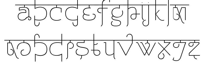 Padmashri Light Font UPPERCASE