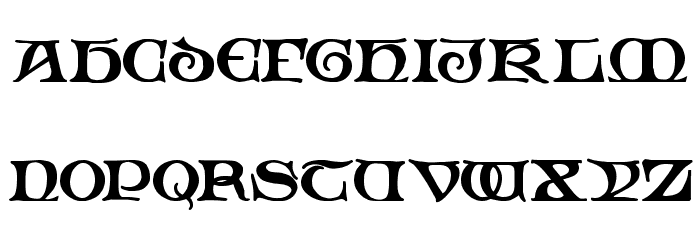 Padstow Demo Font UPPERCASE