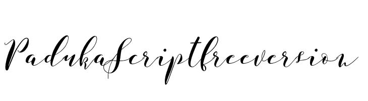PadukaScriptfreeversion  Скачать бесплатные шрифты