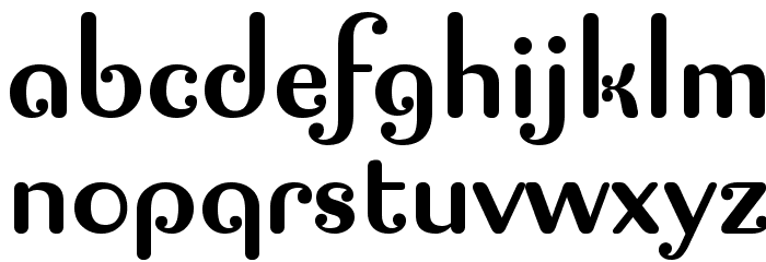 Pagan Poetry Font LOWERCASE