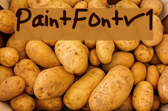 Paint_Font_v1 Font - free fonts download