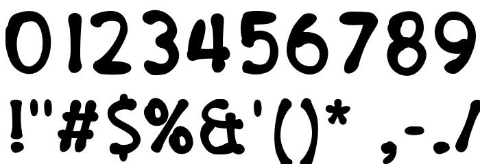PajamaPantsBold Шрифта ДРУГИЕ символов
