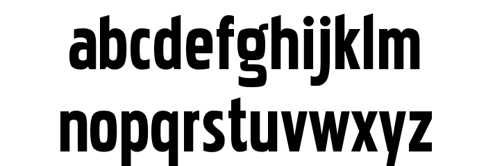 Pakenham Font LOWERCASE