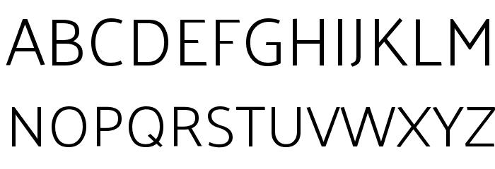 Palanquin Light Font UPPERCASE