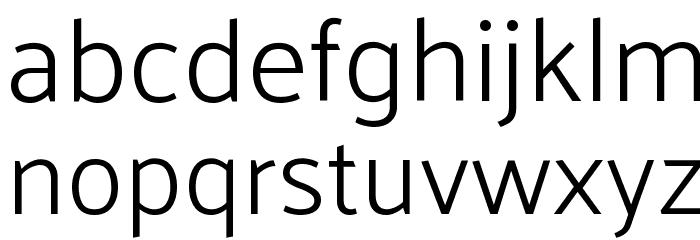Palanquin Light Font LOWERCASE