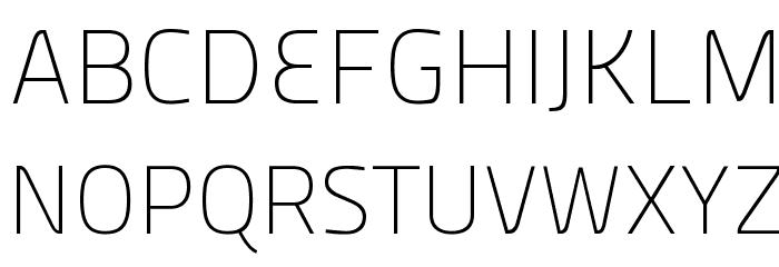 Panefresco 1wt Regular フォント 大文字