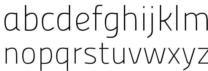 Panefresco 1wt Regular フォント 小文字