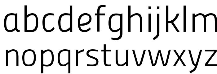 Panefresco 250wt Regular フォント 小文字