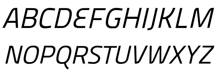 Panefresco 400wt Italic フォント 大文字
