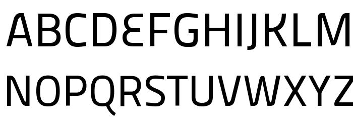 Panefresco 500wt Regular フォント 大文字