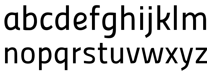 Panefresco 500wt Regular フォント 小文字