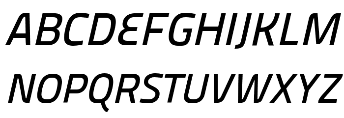 Panefresco 600wt Italic フォント 大文字