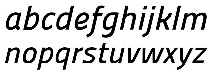 Panefresco 600wt Italic フォント 小文字