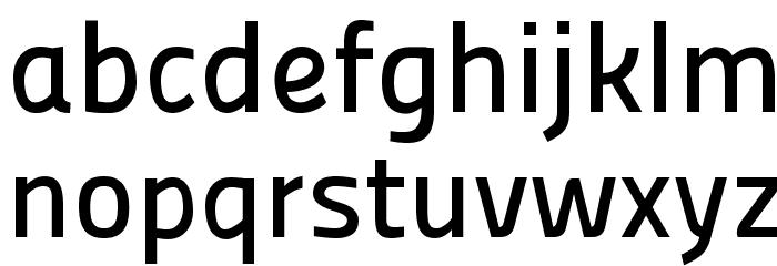 Panefresco 600wt Regular フォント 小文字