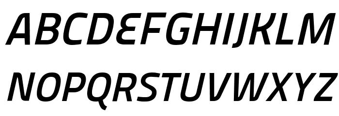 Panefresco 750wt Italic フォント 大文字