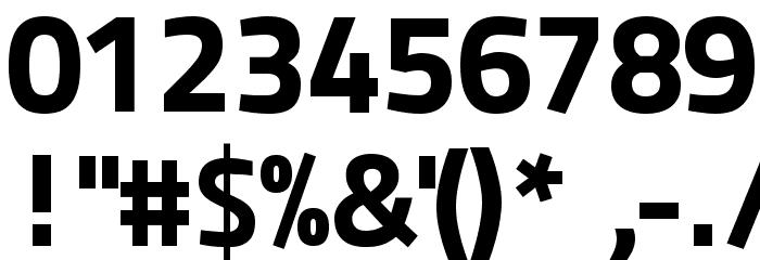 Panefresco 999wt Regular フォント その他の文字