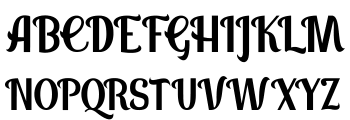 Panettone DEMO Regular Font UPPERCASE