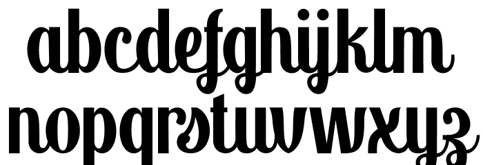 Panettone DEMO Regular Font LOWERCASE