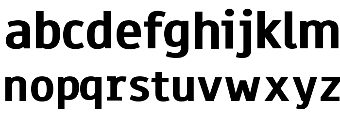 Paneuropa Highway Font LOWERCASE