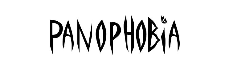 Panophobia  Descarca Fonturi Gratis