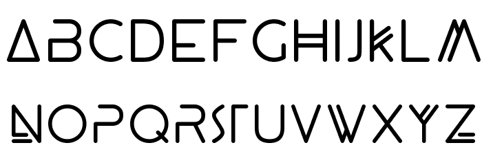 Panther Black Font LOWERCASE