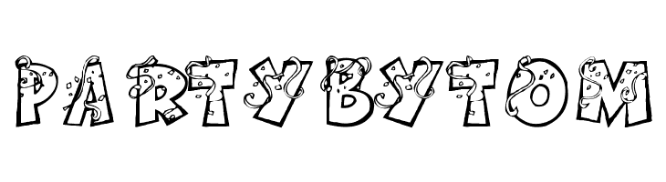 PartybyTom  Free Fonts Download
