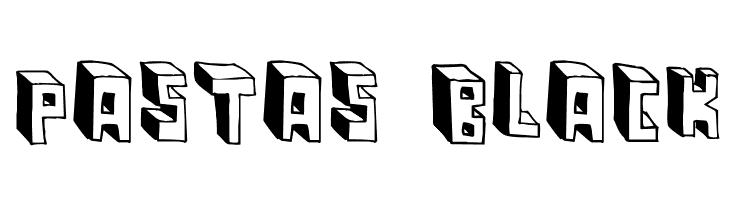 Pastas Black  Free Fonts Download