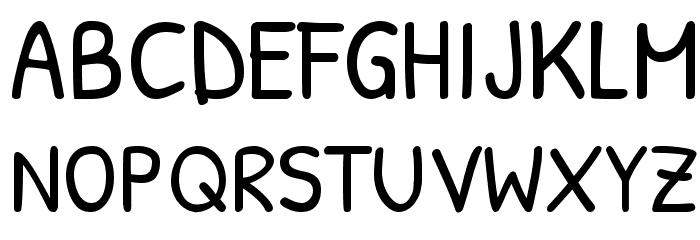 Patrick Hand SC Font UPPERCASE