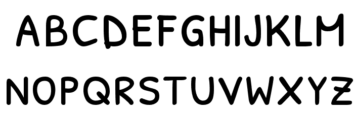 Patrick Hand SC Font LOWERCASE