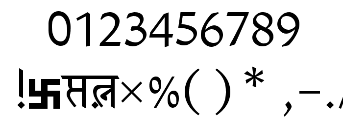 Patrika Font OTHER CHARS
