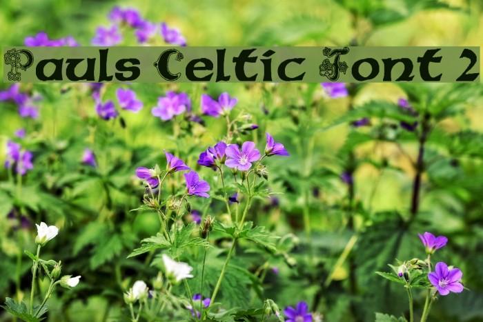 Pauls Celtic Font 2 Font Free Fonts Download