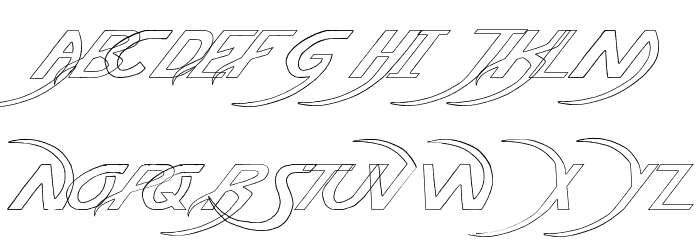 Pauls Poison Font Italic Polices fr - free fonts download