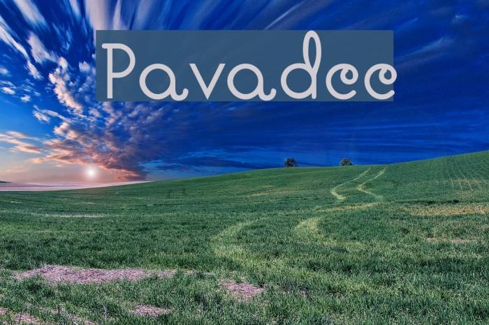 Pavadee لخطوط تنزيل examples