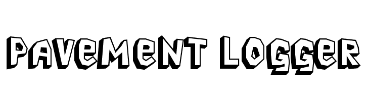 Pavement Logger  Free Fonts Download
