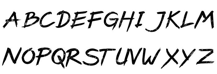 PaxSuyudz Free Schriftart Groß