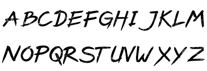 PaxSuyudz Free Font LOWERCASE