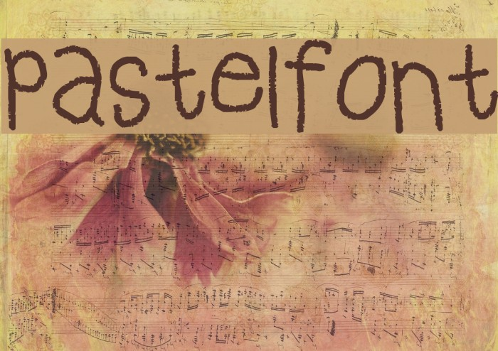 pastelfont フォント examples